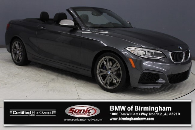 Certified Pre-Owned 2016 BMW M235i Convertible for sale in Irondale, AL