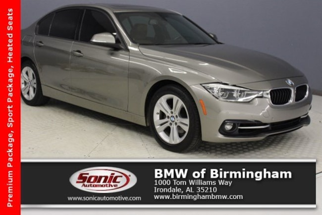 Certified Pre-Owned 2016 BMW 328i w/SULEV Sedan for sale in Irondale, AL