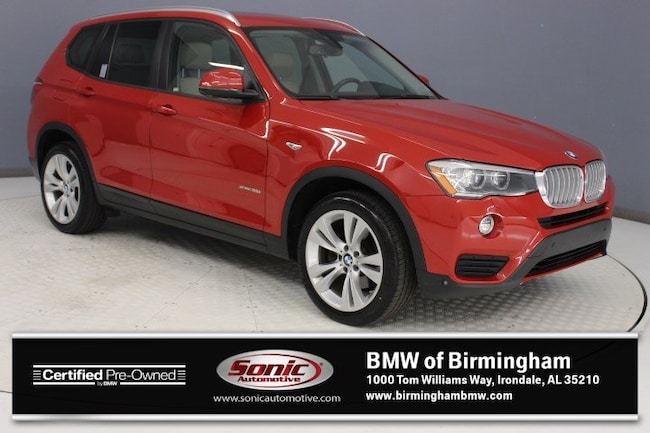 Certified Pre-Owned 2016 BMW X3 xDrive35i SAV for sale in Irondale, AL