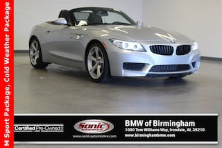 Certified Pre-Owned 2015 BMW Z4 sDrive28i Convertible for sale in Irondale, AL