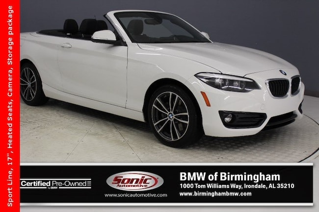 Certified Pre-Owned 2018 BMW 230i Convertible for sale in Irondale, AL