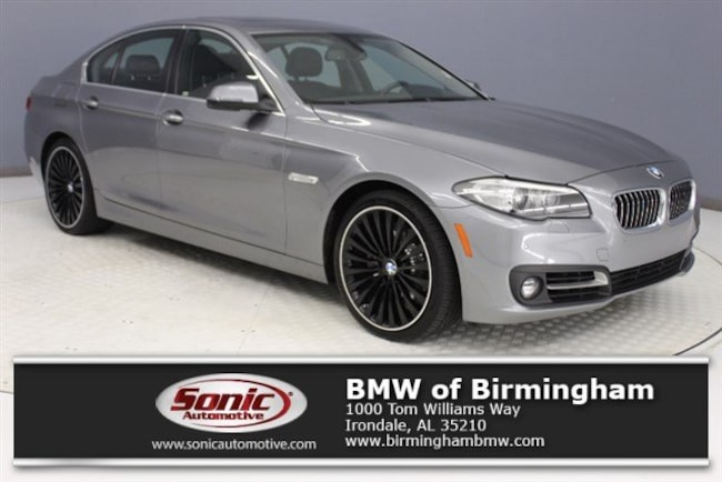 New 2016 BMW 528i Sedan for sale in Irondale, AL