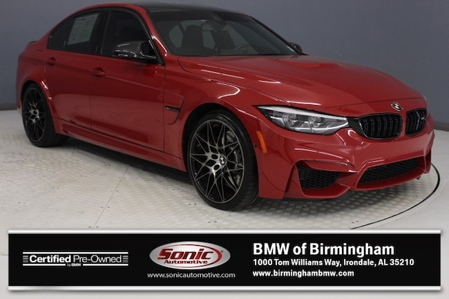 Certified Pre-Owned 2018 BMW M3 Sedan for sale in Irondale, AL