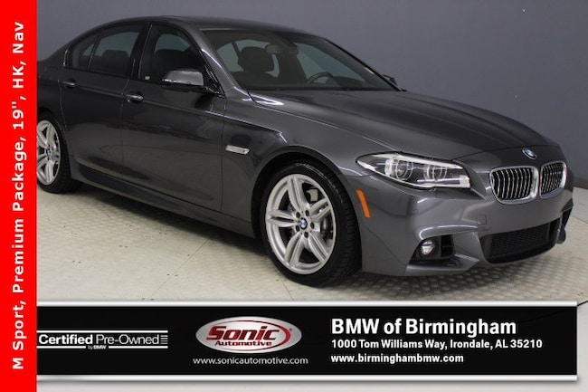 Certified Pre-Owned 2016 BMW 535i Sedan for sale in Irondale, AL