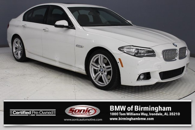 Certified Pre-Owned 2016 BMW 550i Sedan for sale in Irondale, AL