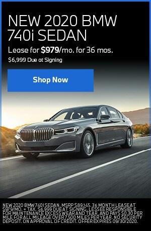 NEW 2020 BMW 740i SEDAN