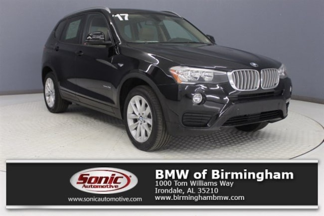 Used 2017 BMW X3 sDrive28i SAV for sale in Irondale, AL