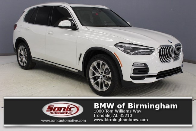 New 2019 BMW X5 xDrive40i SAV for sale in Irondale, AL