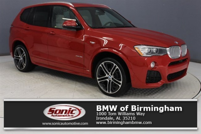 Used 2017 BMW X3 xDrive35i SAV for sale in Irondale, AL