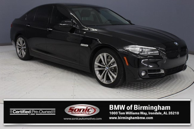 Certified Pre-Owned 2016 BMW 528i Sedan for sale in Irondale, AL