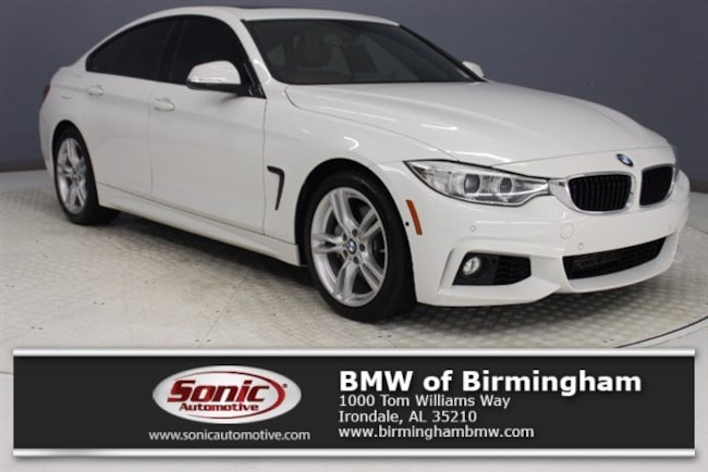 Certified Pre-Owned 2016 BMW 428i w/SULEV Gran Coupe for sale in Irondale, AL