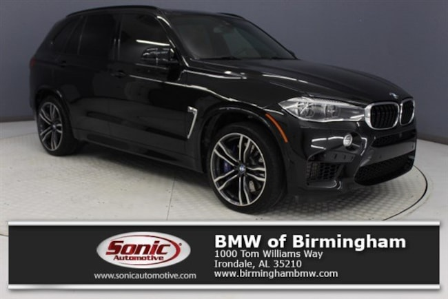 Used 2018 BMW X5 M SAV for sale in Irondale, AL