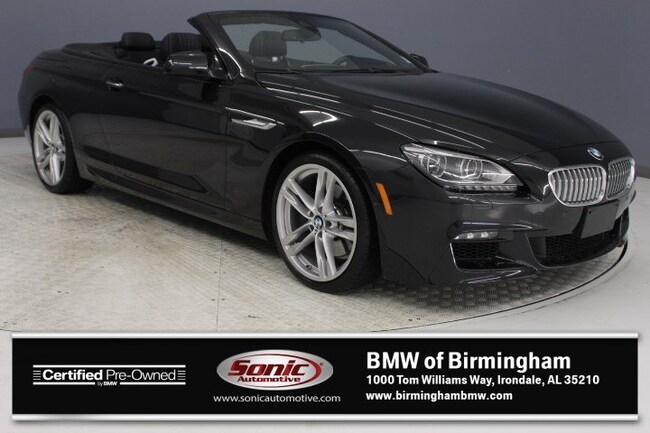 Certified Pre-Owned 2015 BMW 650i Convertible for sale in Irondale, AL