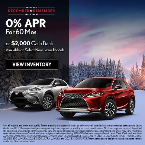 0% APR For 60 Mos.