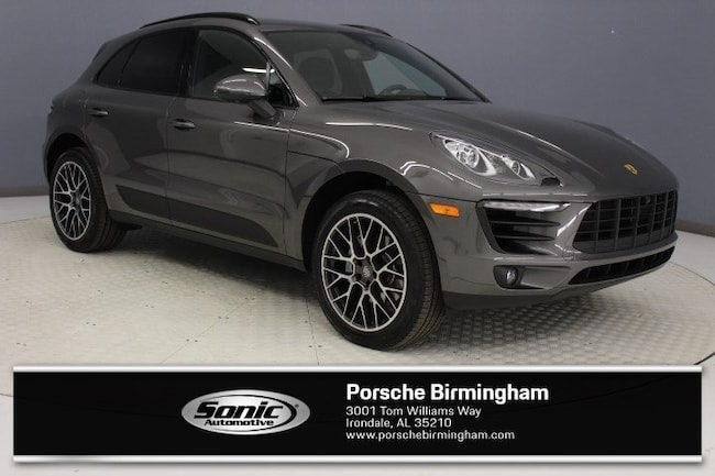 New 2018 Porsche Macan SUV for sale in Irondale, AL