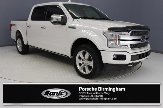 Used 2018 Ford F-150 Platinum  4WD Supercrew 5.5 Box for sale in Irondale, AL