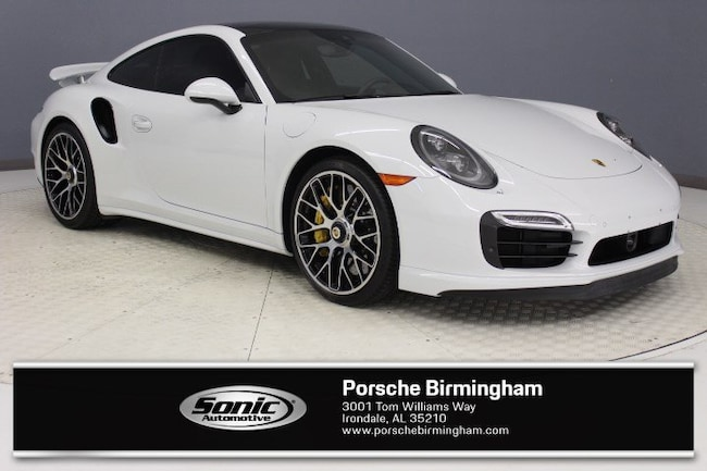 Certified Pre-Owned 2016 Porsche 911 Turbo S 2dr Cpe Coupe for sale in Irondale, AL