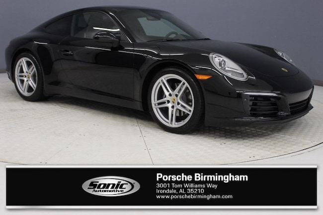 Certified Pre-Owned 2018 Porsche 911 Carrera  Coupe CP for sale in Irondale, AL