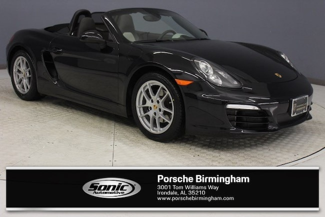 Certified Pre-Owned 2014 Porsche Boxster 2dr Roadster for sale in Irondale, AL