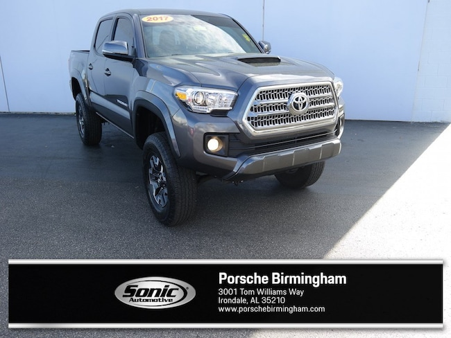 Used 2017 Toyota Tacoma TRD Sport  Double Cab 5 Bed V6 4x2 AT Natl Pickup for sale in Irondale, AL