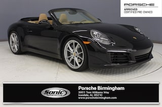 Certified Pre-Owned 2017 Porsche 911 Carrera  Cabriolet for sale in Irondale, AL