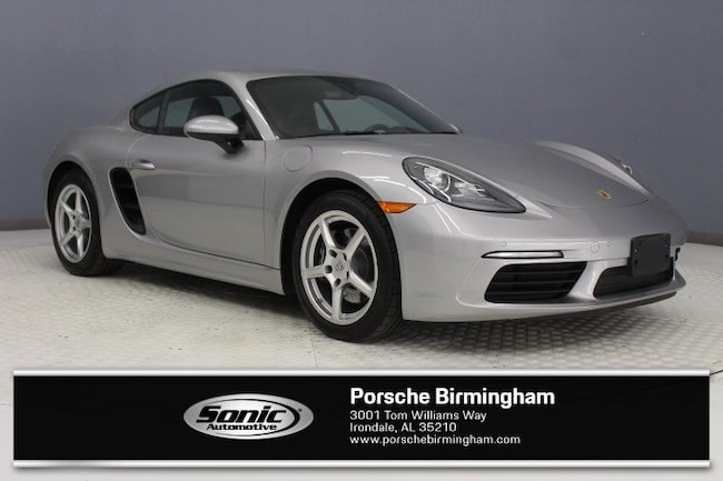 Certified Pre-Owned 2017 Porsche 718 Cayman Coupe Coupe for sale in Irondale, AL