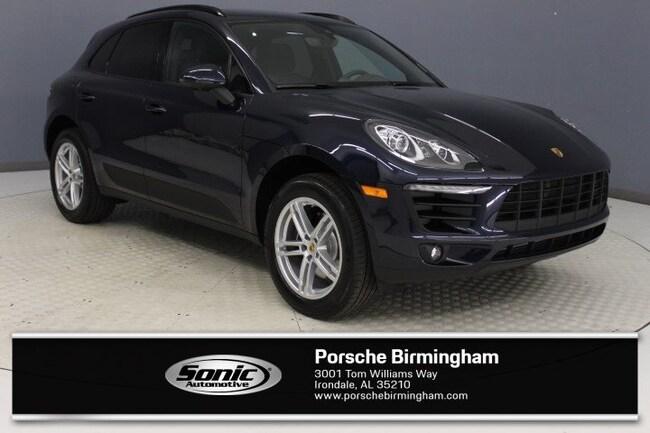New 2018 Porsche Macan SUV for sale in Irondale, AL