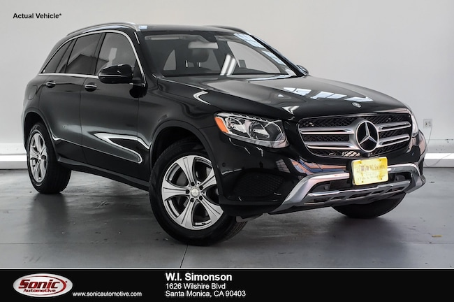 Certified Used 2016 Mercedes-Benz GLC 300 GLC 300 RWD 4dr SUV in Santa Monica