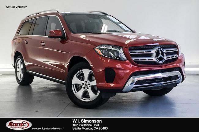 Certified Used 2018 Mercedes-Benz GLS 450 GLS 450  4matic SUV SUV in Santa Monica