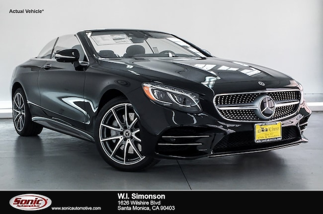 New 2019 Mercedes-Benz S-Class S 560 Cabriolet for sale in Santa Monica, CA