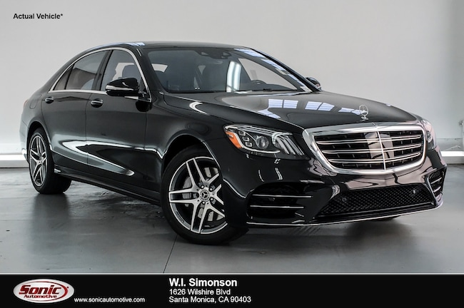 New 2019 Mercedes-Benz S-Class S 560 Sedan for sale in Santa Monica, CA