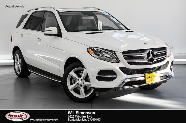 Certified Used 2016 Mercedes-Benz GLE GLE 350 RWD 4dr SUV in Santa Monica