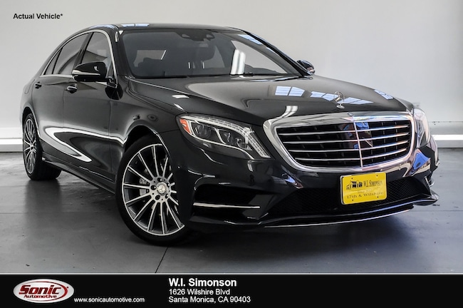 Certified Used 2015 Mercedes-Benz S-Class S 550 4dr Sdn  RWD Sedan in Santa Monica