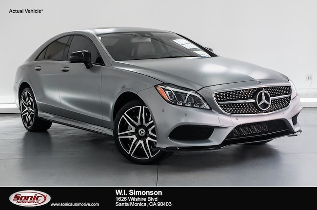 Certified Used 2018 Mercedes-Benz CLS 550 CLS 550  4matic Coupe Coupe in Santa Monica