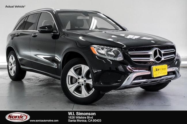 Certified Used 2016 Mercedes-Benz GLC 300 GLC 300 RWD 4dr SUV in Santa Monica