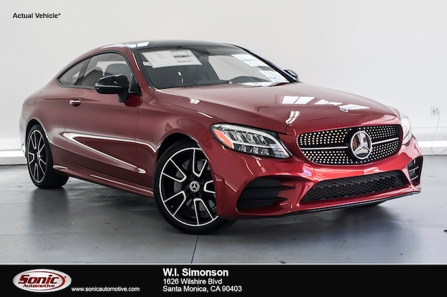 New 2019 Mercedes-Benz C-Class C 300 Coupe for sale in Santa Monica, CA