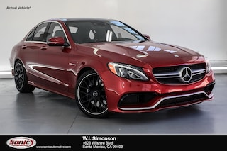 Used 2017 Mercedes-Benz AMG C 63 AMG C 63  Sedan Sedan for sale in Santa Monica