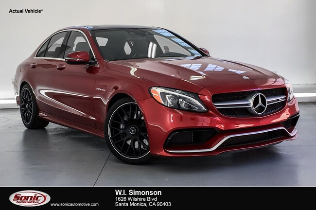 Used 2017 Mercedes-Benz AMG C 63 AMG C 63  Sedan Sedan for sale in Santa Monica, CA