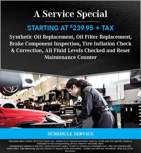 A Service Special