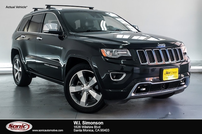 Used 2014 Jeep Grand Cherokee Overland RWD 4dr SUV for sale in Santa Monica, CA