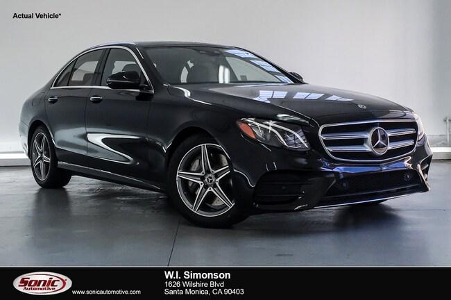 New 2019 Mercedes-Benz E-Class E 300 Sedan for sale in Santa Monica, CA