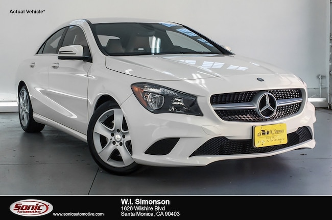 Certified Used 2016 Mercedes-Benz CLA 250 CLA 250 4dr Sdn  FWD Coupe in Santa Monica