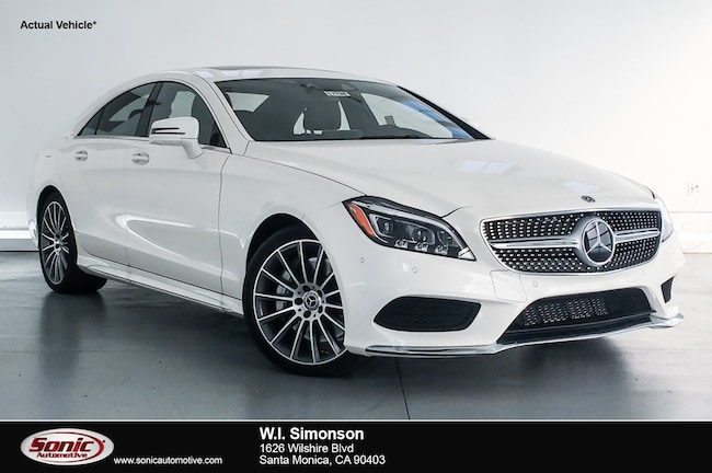 New 2018 Mercedes-Benz CLS 550 Coupe for sale in Santa Monica, CA