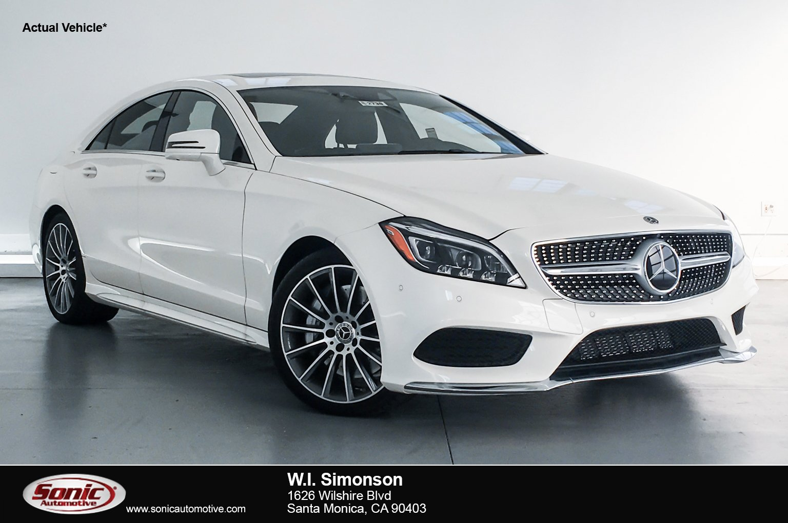 New 2018 Mercedes Benz CLS 550 Coupe For Sale In Santa Monica, CA