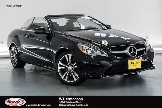 Certified Used 2016 Mercedes-Benz E-Class E 400 2dr Cabriolet  RWD Convertible in Santa Monica