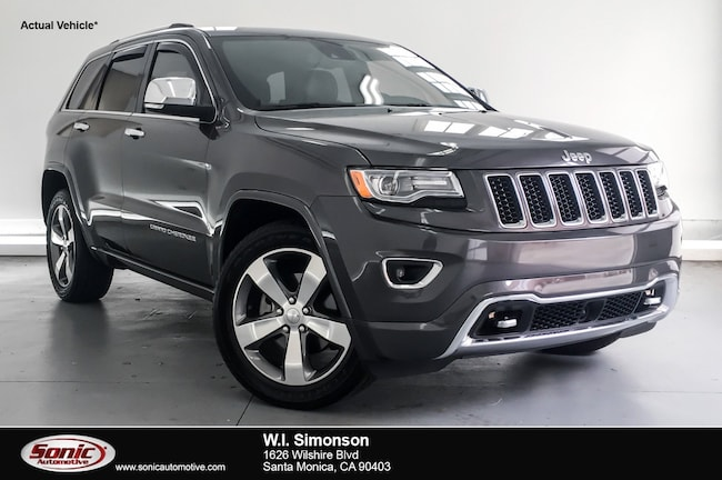 Used 2015 Jeep Grand Cherokee Overland RWD 4dr SUV for sale in Santa Monica, CA