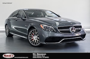 2017 Mercedes-Benz AMG CLS 63 AMG CLS 63 S  4matic Coupe Coupe