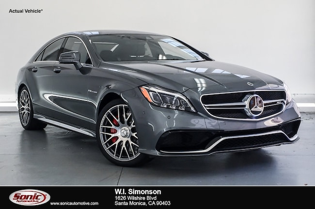 Used 2017 Mercedes-Benz AMG CLS 63 AMG CLS 63 S  4matic Coupe Coupe for sale in Santa Monica, CA
