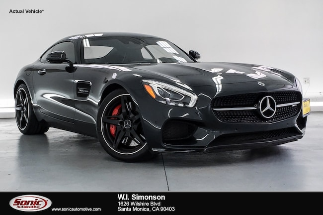 Certified Used 2016 Mercedes-Benz AMG GT S S 2dr Cpe Coupe in Santa Monica