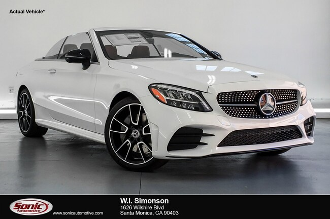 New 2019 Mercedes-Benz C-Class C 300 Cabriolet for sale in Santa Monica, CA